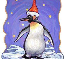 Penguin Christmas by ImagineThatNYC