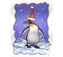 Penguin Christmas Poster
