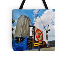 No Pedestrians Tote Bag