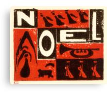Noel Red Canvas Print