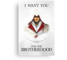 I want you for the Brotherhood Canvas Print