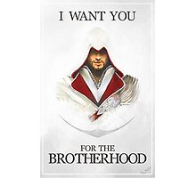 I want you for the Brotherhood Photographic Print