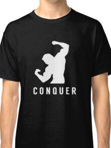 arnold schwarzenegger gym t-shirt conquer Classic T-Shirt