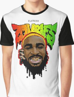 Flatbush Zombies Juiice Mecky Handphone call Graphic T-Shirt