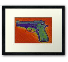 Pistol Framed Print