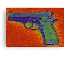 Pistol Canvas Print