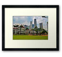 Singapore Framed Print