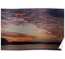 Sunset November 9, 2013 Poster