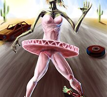 Zombie Ballerina by Chris Moet