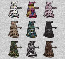 Designer Daleks by gofreshfeelgood