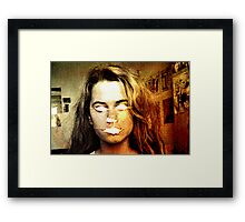What beautiful eyes you have Framed Print