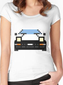 Pixel AE86 Women's Fitted Scoop T-Shirt