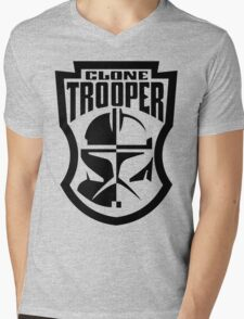 Star Wars Clone Trooper Mens V-Neck T-Shirt