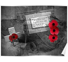 Armistice Day - We Remember Them Poster