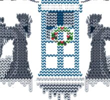 Ugly Christmas Shirt Doctor Who - Ugly Christmas Sweate Sticker
