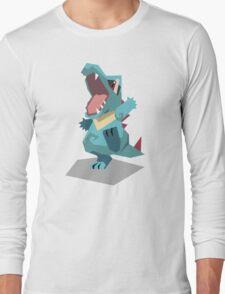 Cutout Totodile Long Sleeve T-Shirt