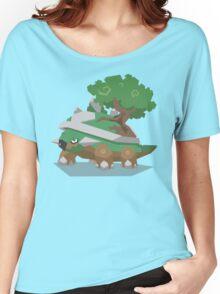 Cutout Torterra Women's Relaxed Fit T-Shirt