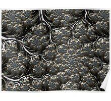 Metal Cauliflower - Fractal Image Poster