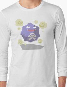 Cutout Koffing Long Sleeve T-Shirt