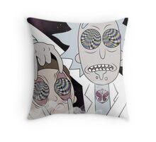 Rick & Morty Throw Pillow