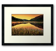 Scottish sunrise Framed Print
