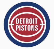 Detroit Pistons basketball logos T-Shirts ,Stickers by boomer321sasha
