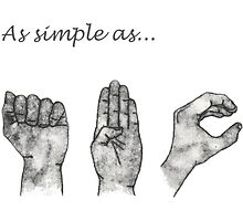 As simple as- ABC (sign language) by KJDaniels