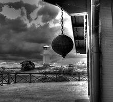 Ball and lighthouse by Arron Hogg