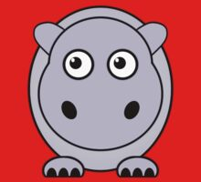 Little Cute Hippopotamus Kids Clothes