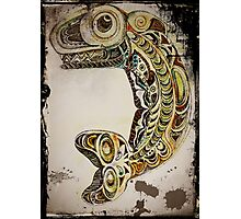 Native American Whale Totem Photographic Print