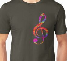 Psychedelic Music Symbol Unisex T-Shirt