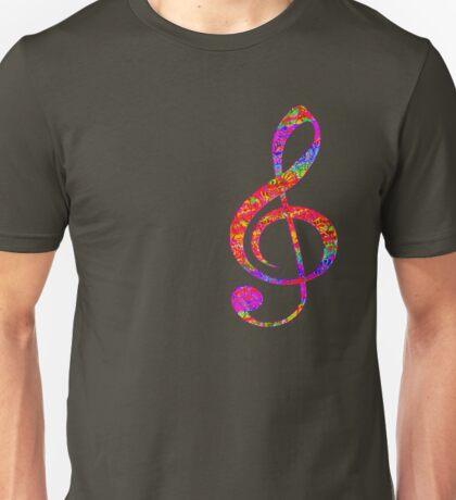 Psychedelic Music Symbol Unisex T-Shirt