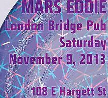 London Bridge 11/9/13 Flyer by John Marzetti