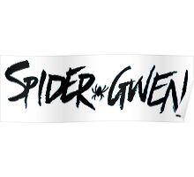 Spider Gwen Logo Poster
