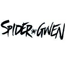 Spider Gwen Logo Photographic Print