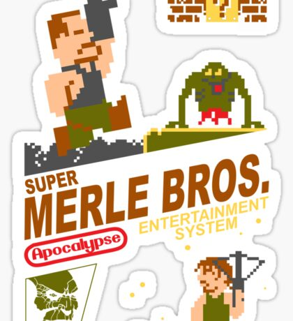Super Merle Brothers Sticker