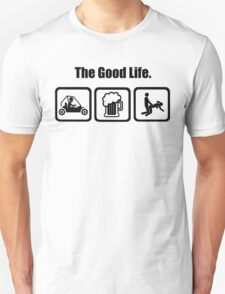 Dune Buggy Beer Sex The Good Life T-Shirt