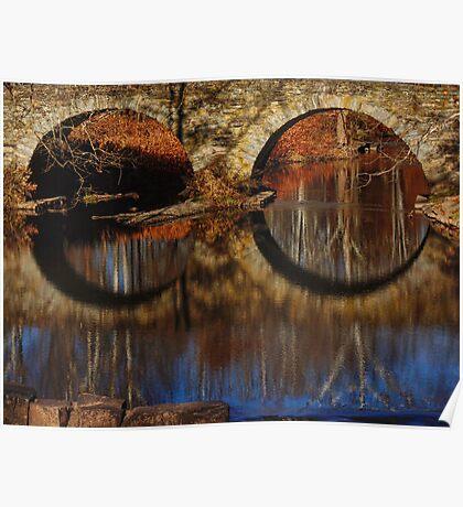 Boundless Vision-Stone Arch Bridge Poster
