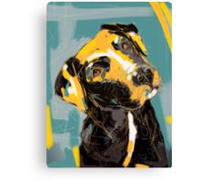 Dog Boris Canvas Print