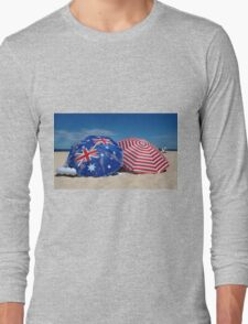 Australia Day at the Beach Long Sleeve T-Shirt