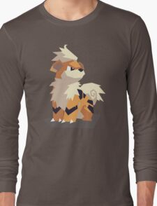 Cutout Growlithe Long Sleeve T-Shirt