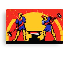 POWER OF PROLETARIAT WORKING CLASS Canvas Print
