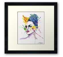 Art is in me Framed Print
