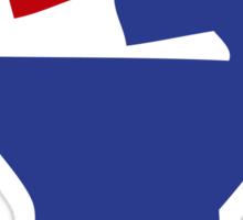 RAISED FIST RESISTANCE Sticker