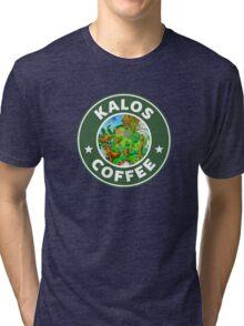 Kalos Coffe Green 2 Tri-blend T-Shirt