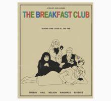 Breakfast Club Movie Poster One Piece - Short Sleeve