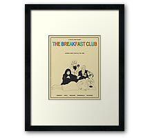 Breakfast Club Movie Poster Framed Print