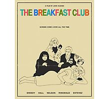 Breakfast Club Movie Poster Photographic Print