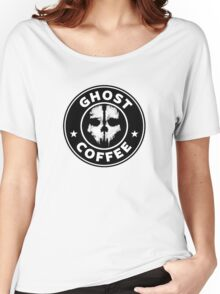 Ghost Coffee 2 Women's Relaxed Fit T-Shirt