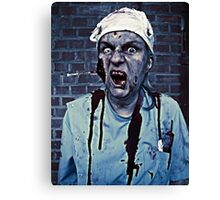 Yes, I Got My Flu Shot... thanks for asking! Canvas Print